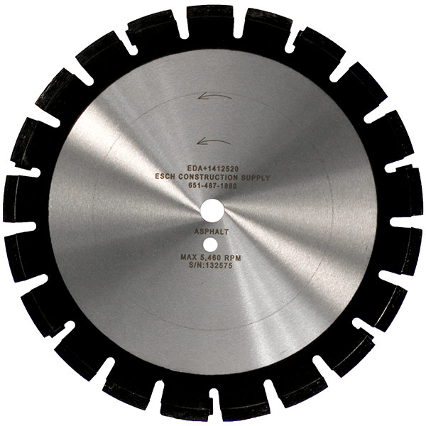 Asphalt Saw Blades from Esch Construction Supply